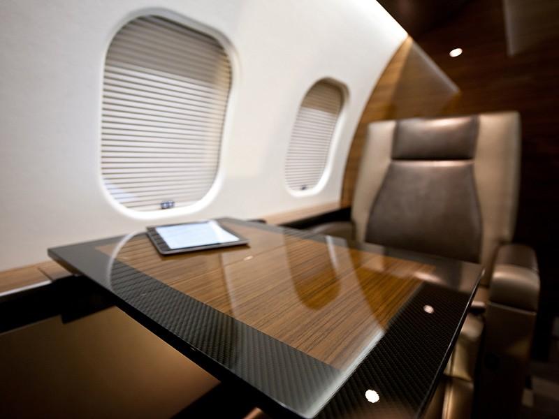 Роскошный самолёт бизнес-джет Bombardier Global 6000 - фото 3