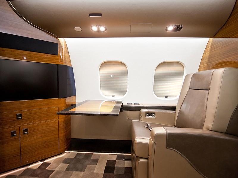 Роскошный самолёт бизнес-джет Bombardier Global 6000 - фото 4