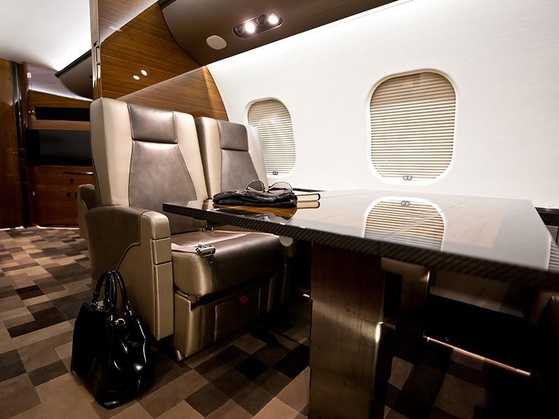 Роскошный самолёт бизнес-джет Bombardier Global 6000 - фото 6