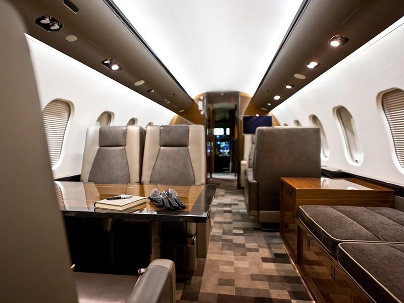 Роскошный самолёт бизнес-джет Bombardier Global 6000 - фото 7