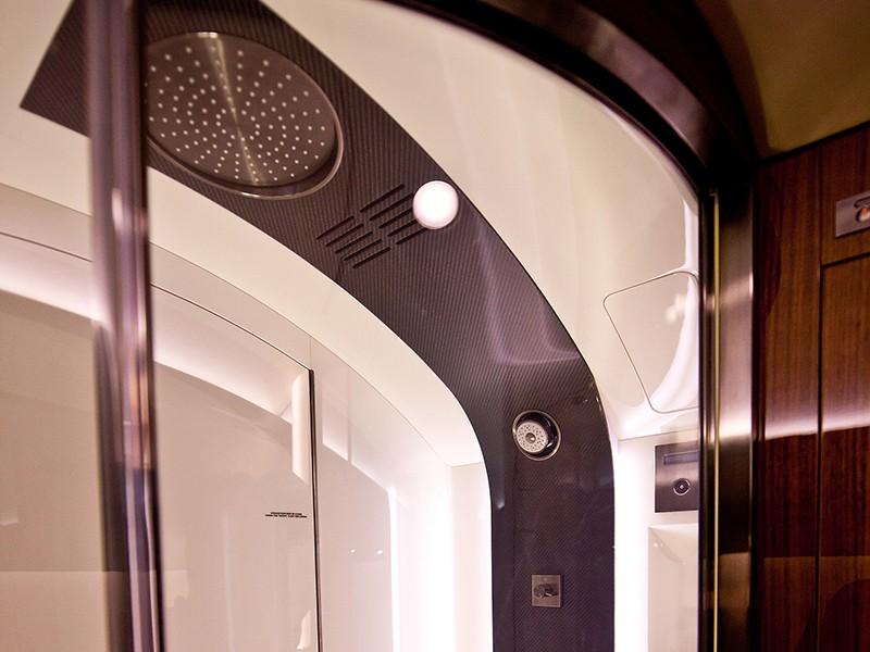 Роскошный самолёт бизнес-джет Bombardier Global 6000 - фото 12