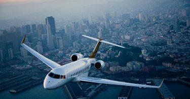 Проект самолёта бизнес-джет Bombardier Global 6000