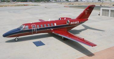 Американский самолёт бизнес-джет Cessna 525B Citation CJ3