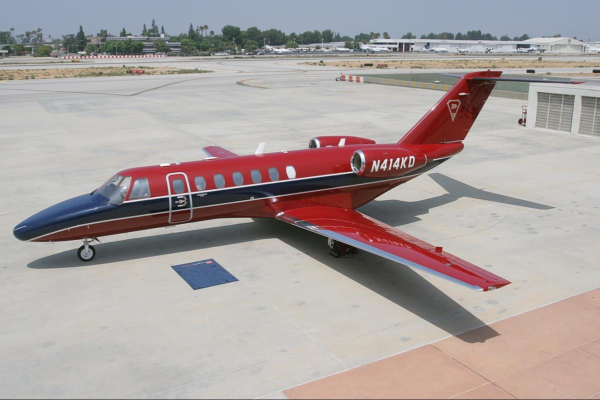 Cessna 525B Citation CJ3 - один из лучших американских самолётов бизнес-джетов