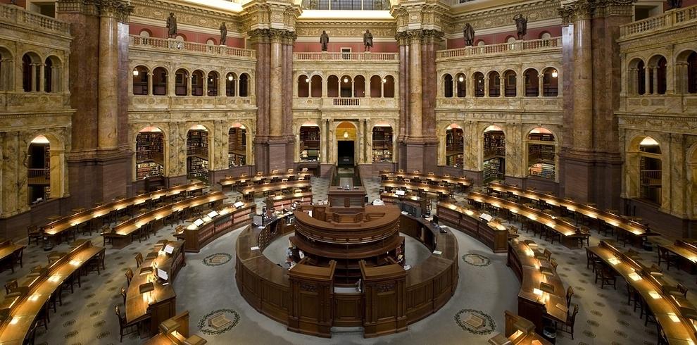 Самые потрясающие библиотеки мира: Библиотека Конгресса США