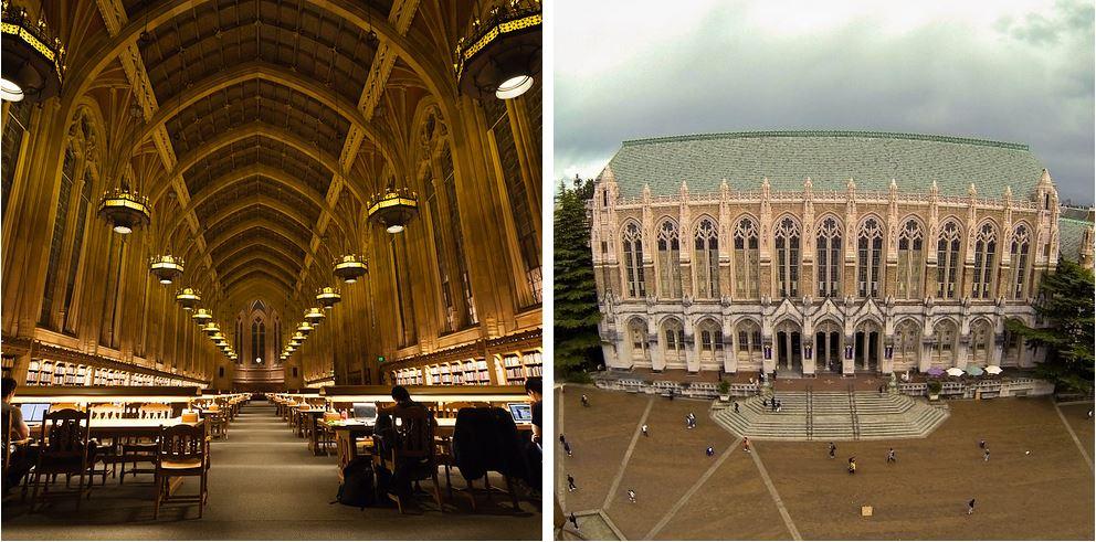 Самые потрясающие библиотеки мира: Университет Вашингтона