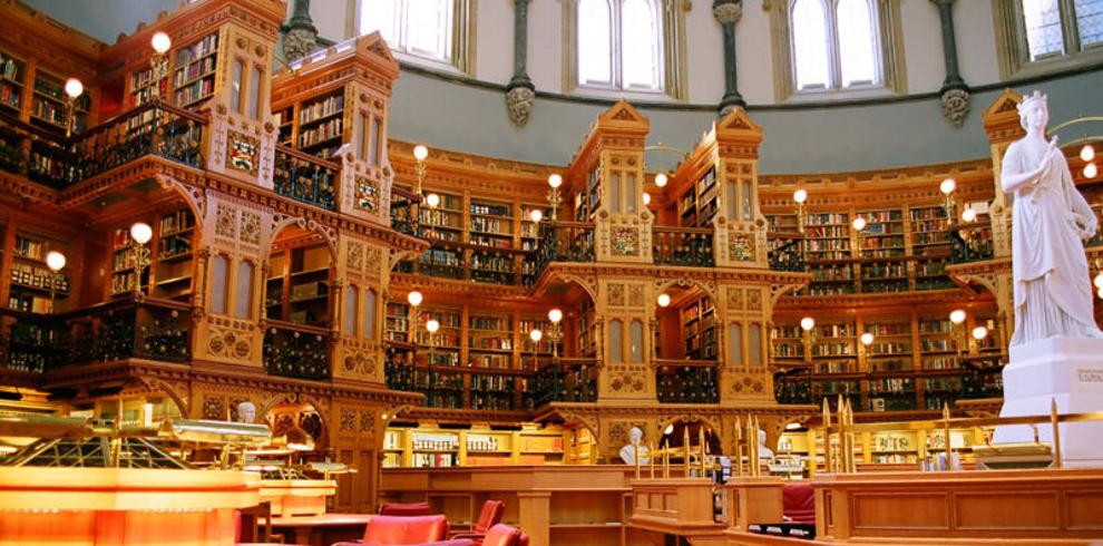 Самые потрясающие библиотеки мира: Парламент Канады