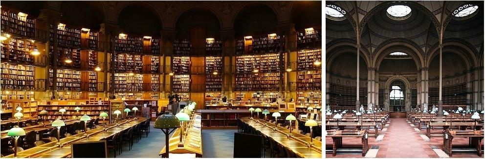 Самые потрясающие библиотеки мира: Национальная библиотека Франции