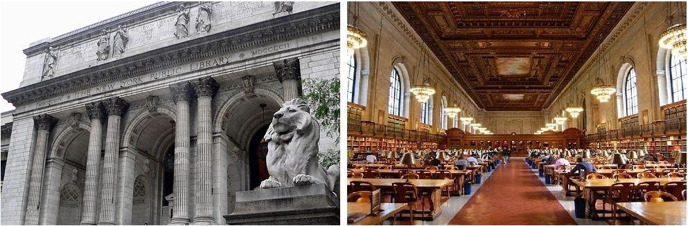 Самые потрясающие библиотеки мира: Публичная библиотека Нью-Йорка