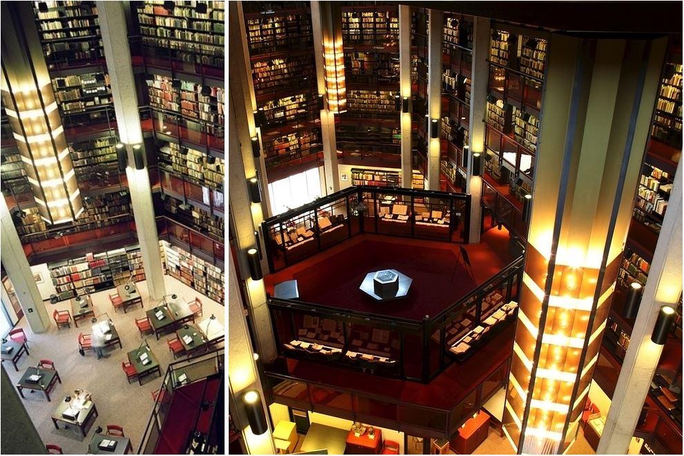 Самые потрясающие библиотеки мира: Библиотека университета Торонто