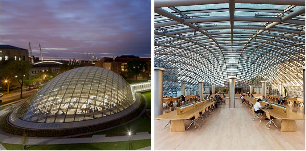 Самые потрясающие библиотеки мира: Библиотека университета Чикаго