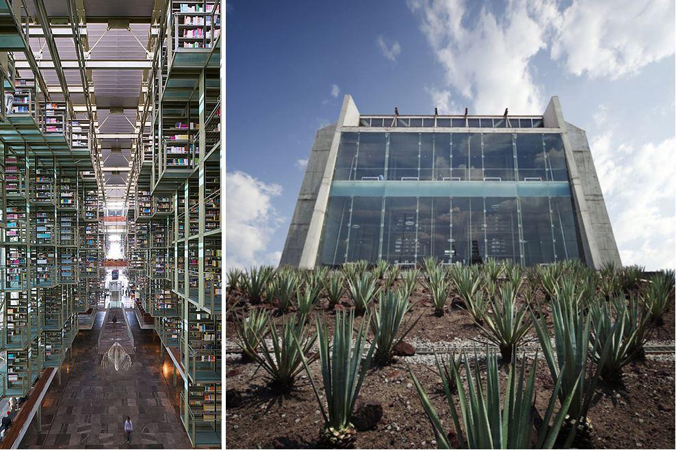 Самые потрясающие библиотеки мира: Библиотека Мехико