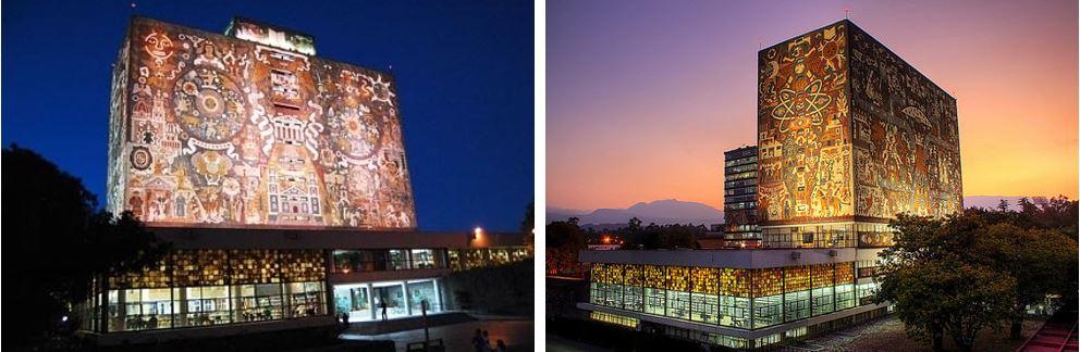 Самые потрясающие библиотеки мира: Национальный университет Мексики