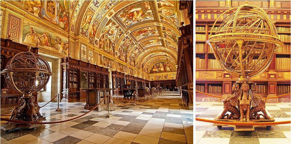 Самые потрясающие библиотеки мира: Королевская резиденция в Испании