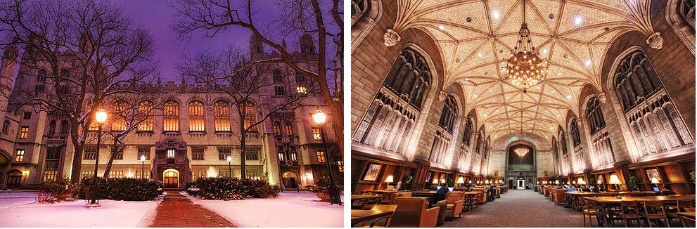 Самые потрясающие библиотеки мира: Мемориальная библиотека Харпер