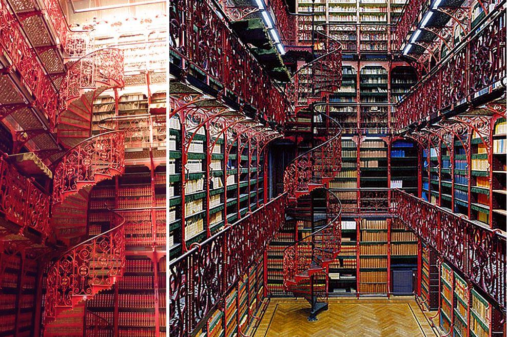 Самые потрясающие библиотеки мира: Библиотека голландского парламента