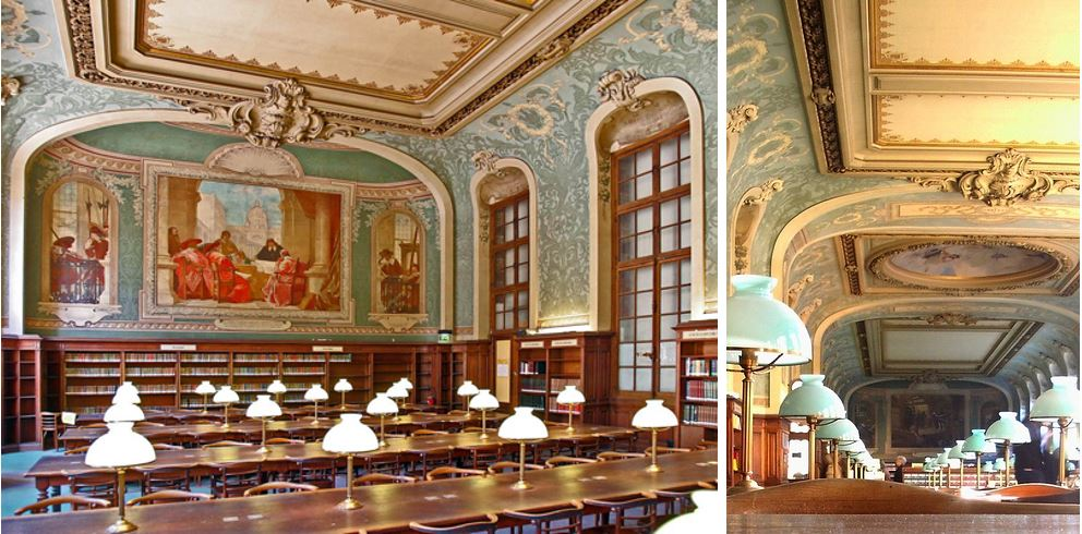 Самые потрясающие библиотеки мира: Читальный зал Форбоны