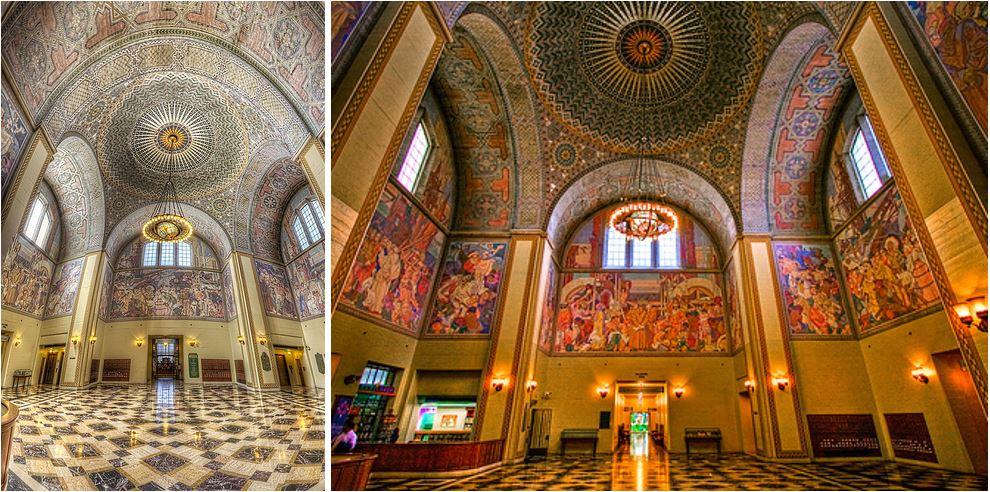 Самые потрясающие библиотеки мира: Центральная библиотека Лос-Анджелеса