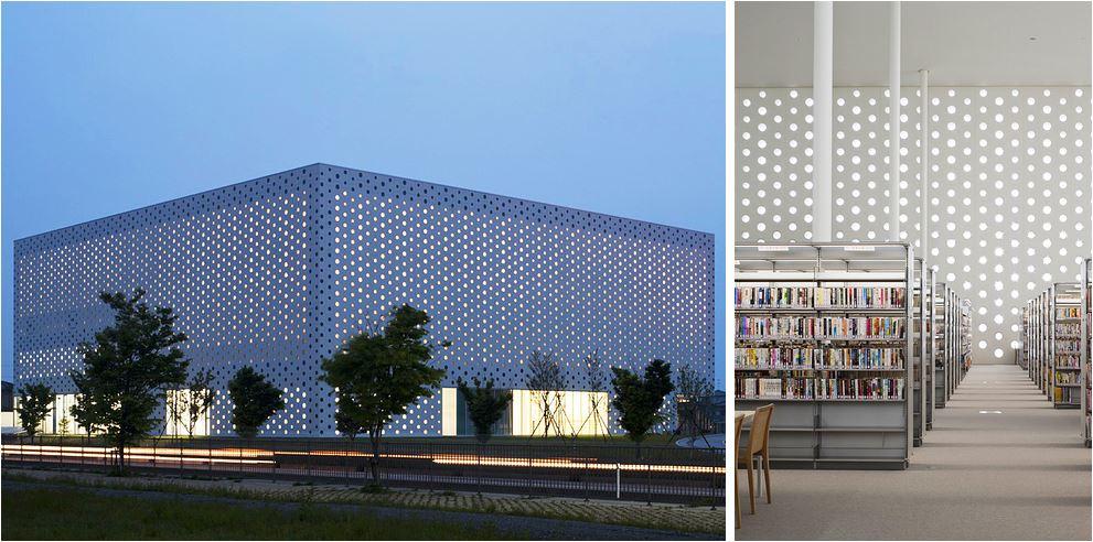 Самые потрясающие библиотеки мира: Библиотека Канадзава
