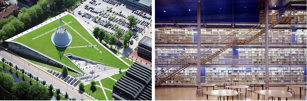 Самые потрясающие библиотеки мира: Технический университет Делфта