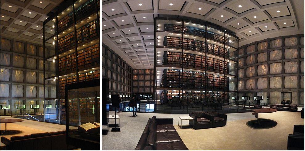 Самые потрясающие библиотеки мира: Библиотека Йельского университета