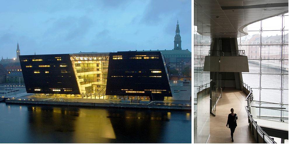 Самые потрясающие библиотеки мира: Датская королевская библиотека