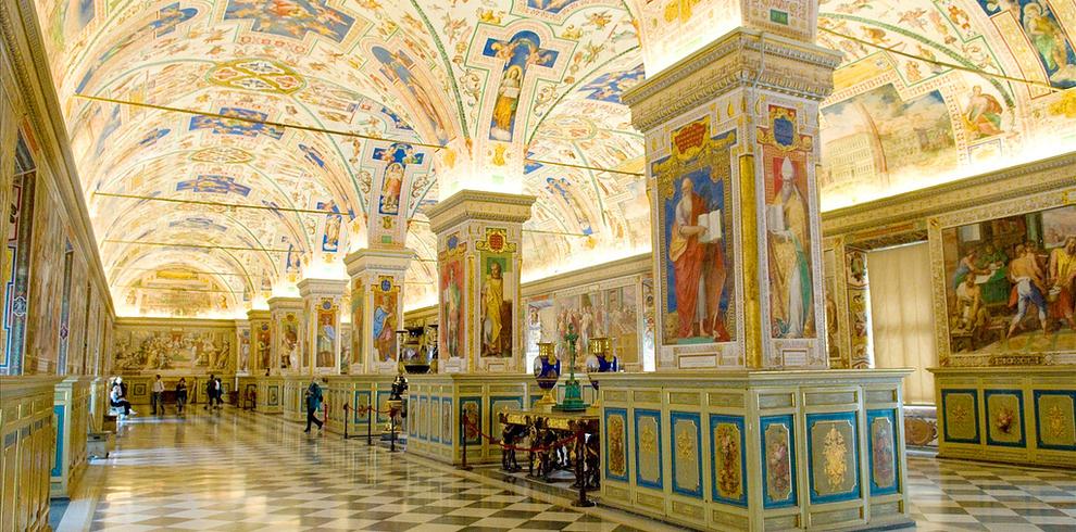 Самые потрясающие библиотеки мира: Библиотека Ватикана