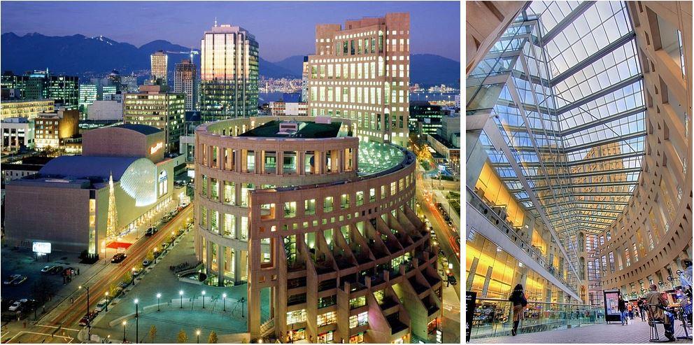 Самые потрясающие библиотеки мира: Центральная библиотека Ванкувера