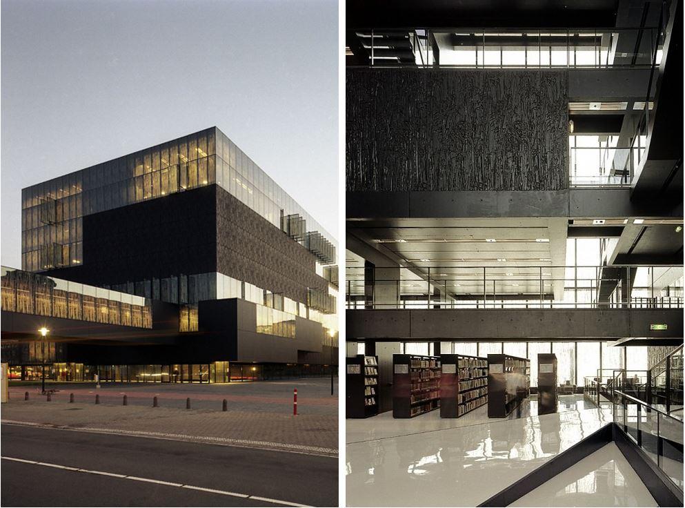 Самые потрясающие библиотеки мира: Библиотека университета Утрехта