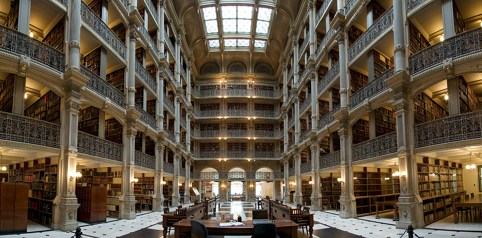 Самые потрясающие библиотеки мира: Университет Хопкинса