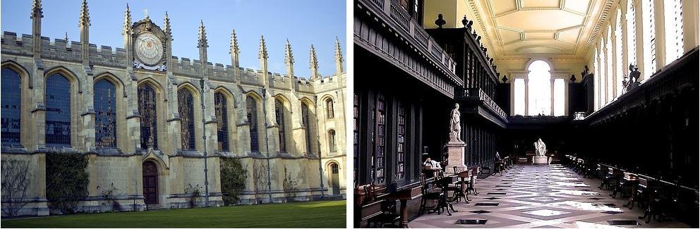 Самые потрясающие библиотеки мира: Оксфордский университет
