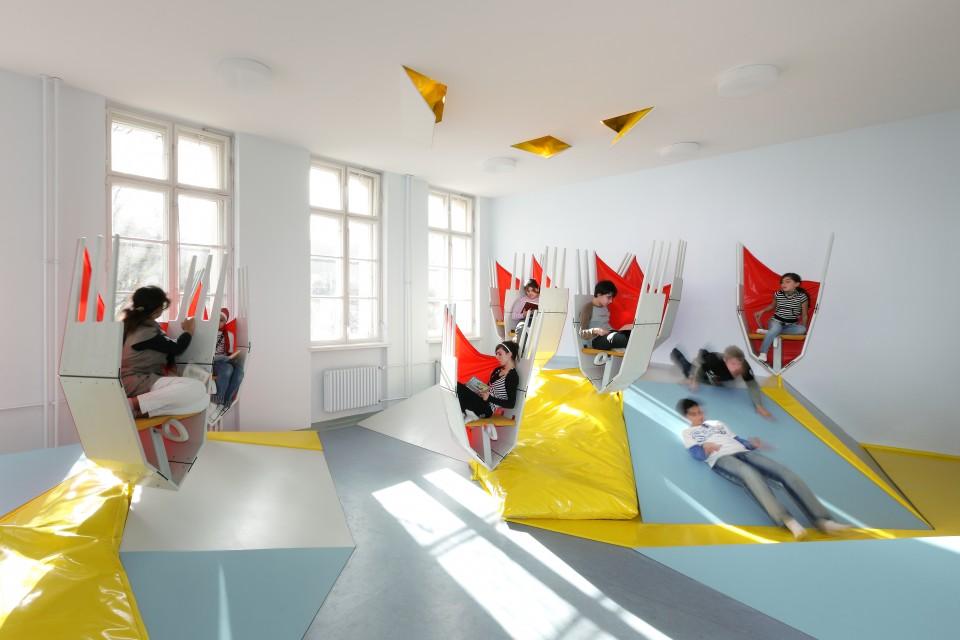 Начальная школа в Берлине Эрики Манн