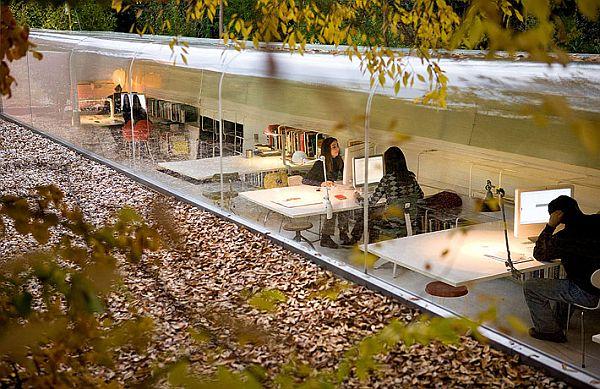 Дизайн лучших офисов: архитектурное бюро «Selgas Kano» - фото 3