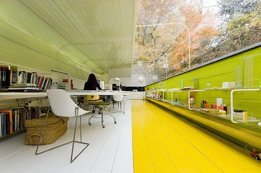 Дизайн лучших офисов: архитектурное бюро «Selgas Kano»