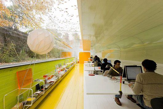 Дизайн лучших офисов: архитектурное бюро «Selgas Kano» - фото 2