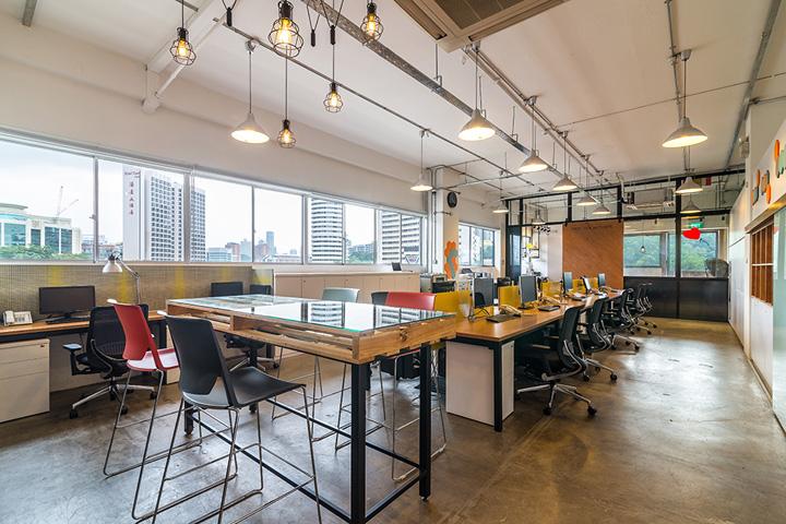 Интерьер офиса компании Sennex в Сингапуре