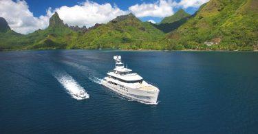 Шикарная яхта Big Fish для кругосветного путешествия