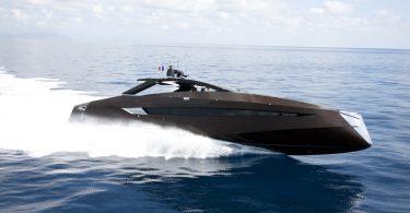 Шикарная яхта: очень быстрая модель