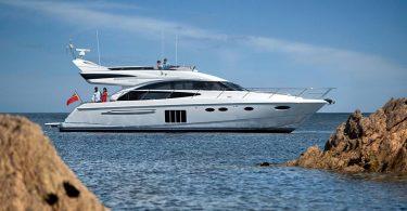 Проект шикарной яхты Princess 60