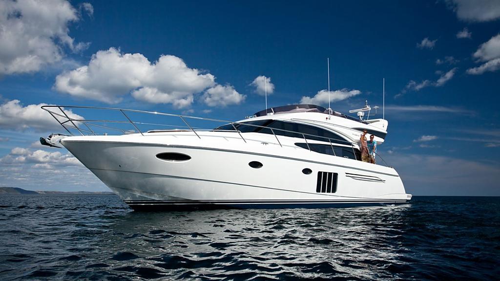 Шикарная яхта Princess 60 иногда называют болидом
