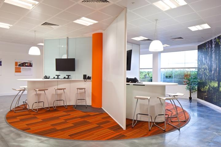 Интерьер офиса компании ShoreTel в Великобритании