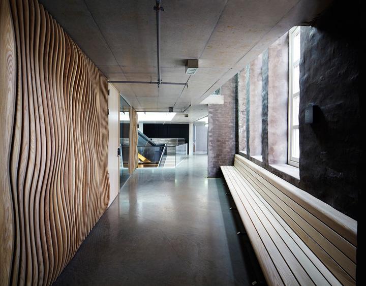 Старинное оформление офиса компании Indigo, Осло, Норвегия