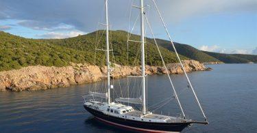 Скоростная яхта Kestrel 106 от дизайнера парусных судов Ron Holland