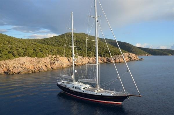 Быстроходная скоростная яхта Kestrel 106
