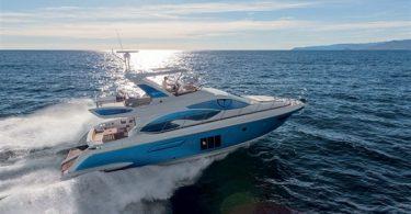 Новая модель скоростной яхты фирмы «Азимут Яхт и Атлантис» - Atlantis 54