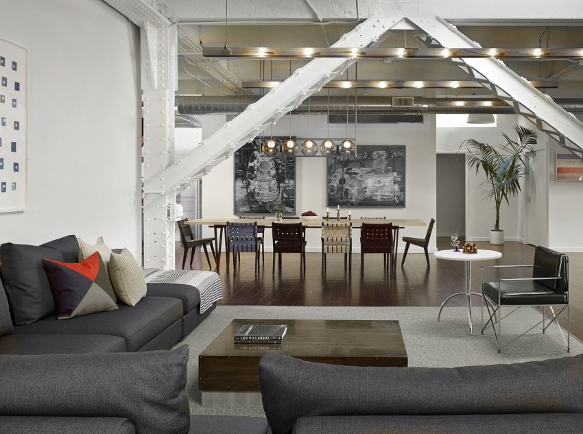 Дизайн апартаментов SOMA Live/Work в США