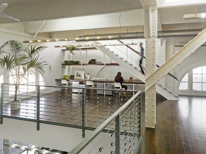 Кабинет апартаментов SOMA Live/Work в США