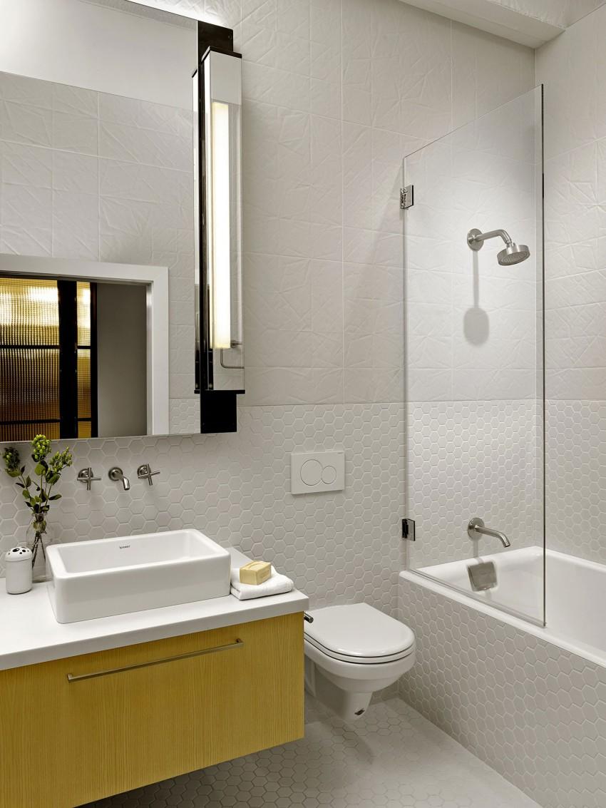Ванная апартаментов SOMA Live/Work в США