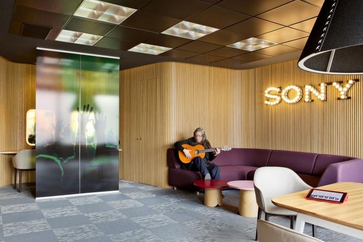 Место для отдыха персонала офиса Sony Music в Мадриде