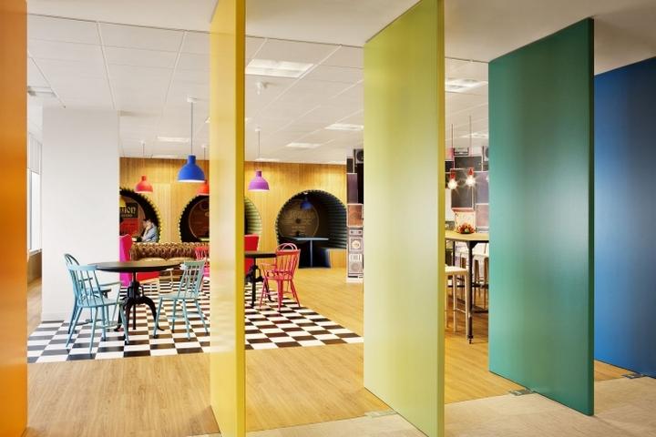 Дизайн офиса Sony Music в Мадриде